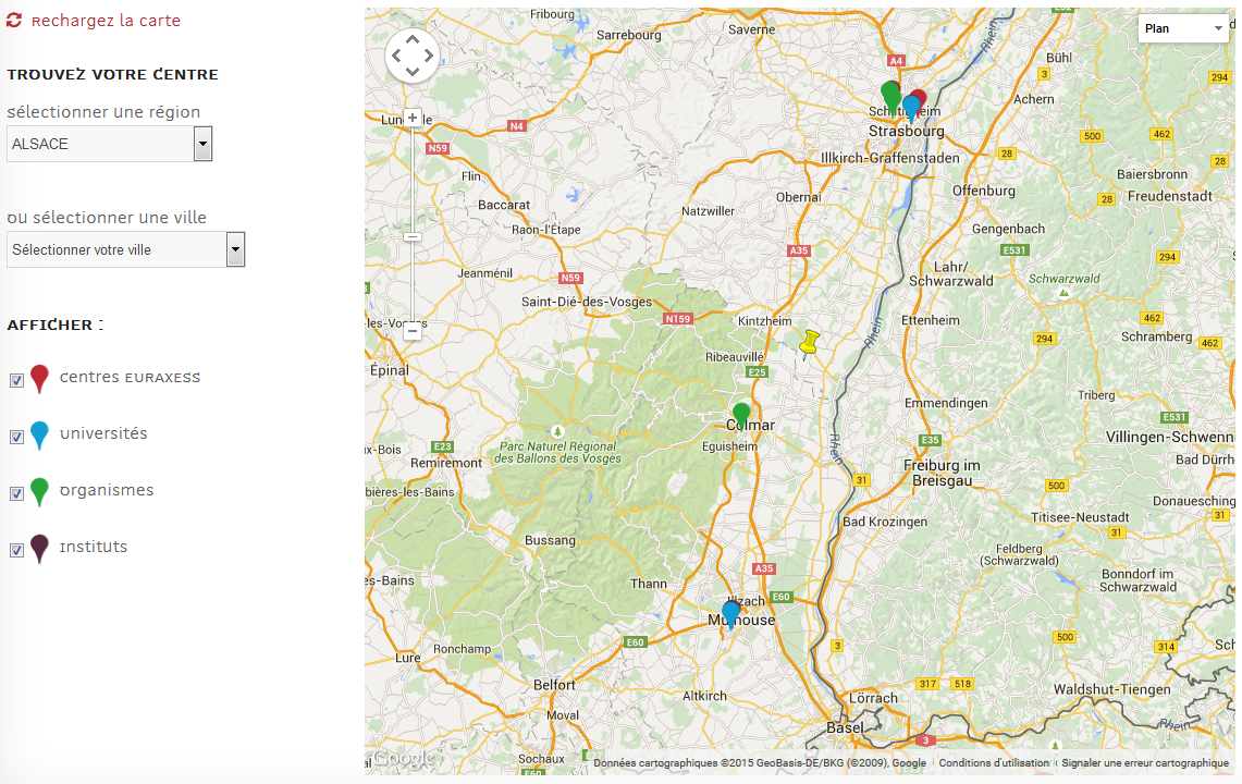 Vos Relais : Alsace